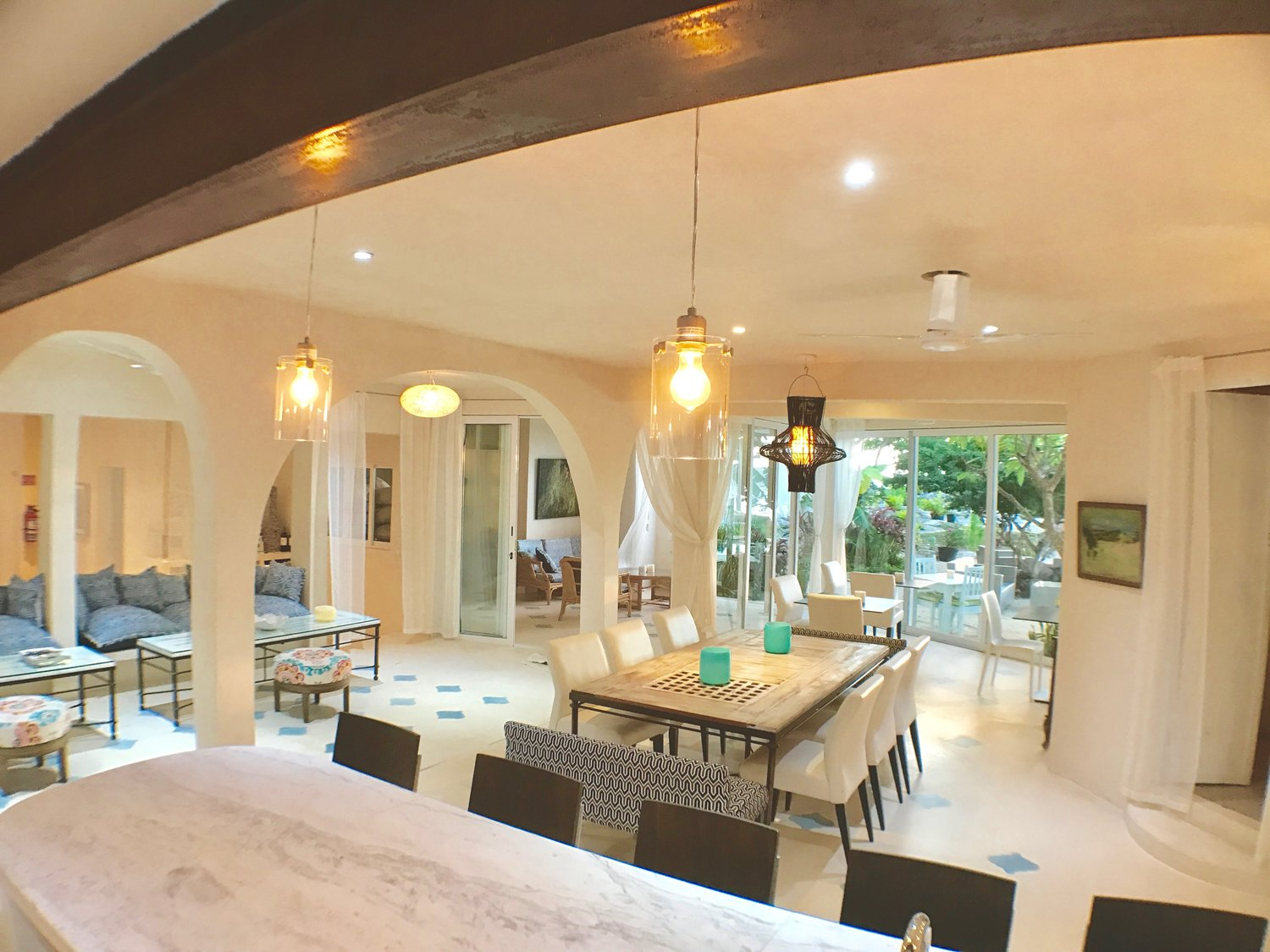 Casa Coco Dining Area From Island