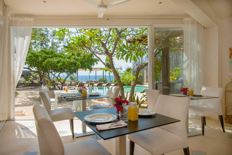 Casa Coco Dining Area Ocean View