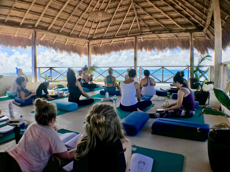 Casa Coco Yoga Palapa Group Study