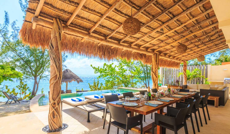 Encantada Exterior Dining Ocean View