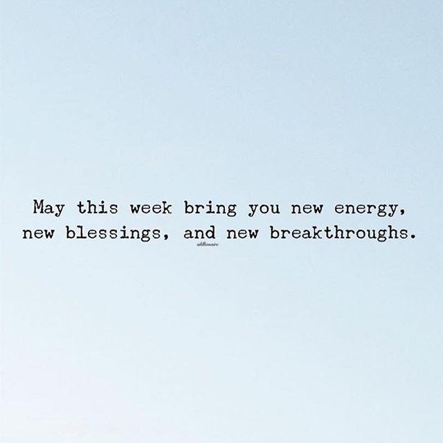 Yesssssss 🙌🏻 let's get this week going!  Happy Monday my friends!