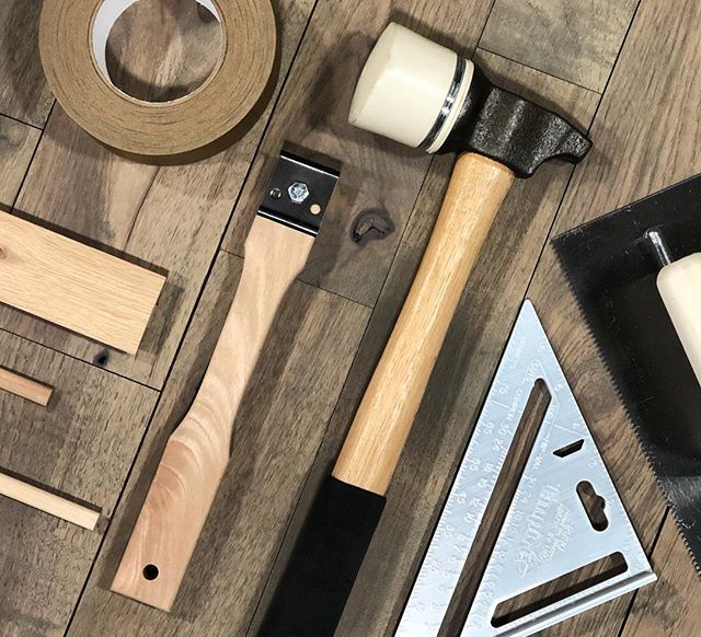 Tools of the Trade 🛠 . . . #artisanfloorsupply #flooringstore #flooringtools