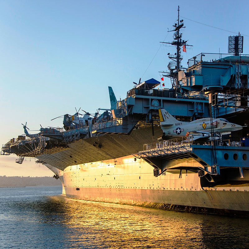 USS Midway   Produced by Antenna Tours  Sound Design & Mix