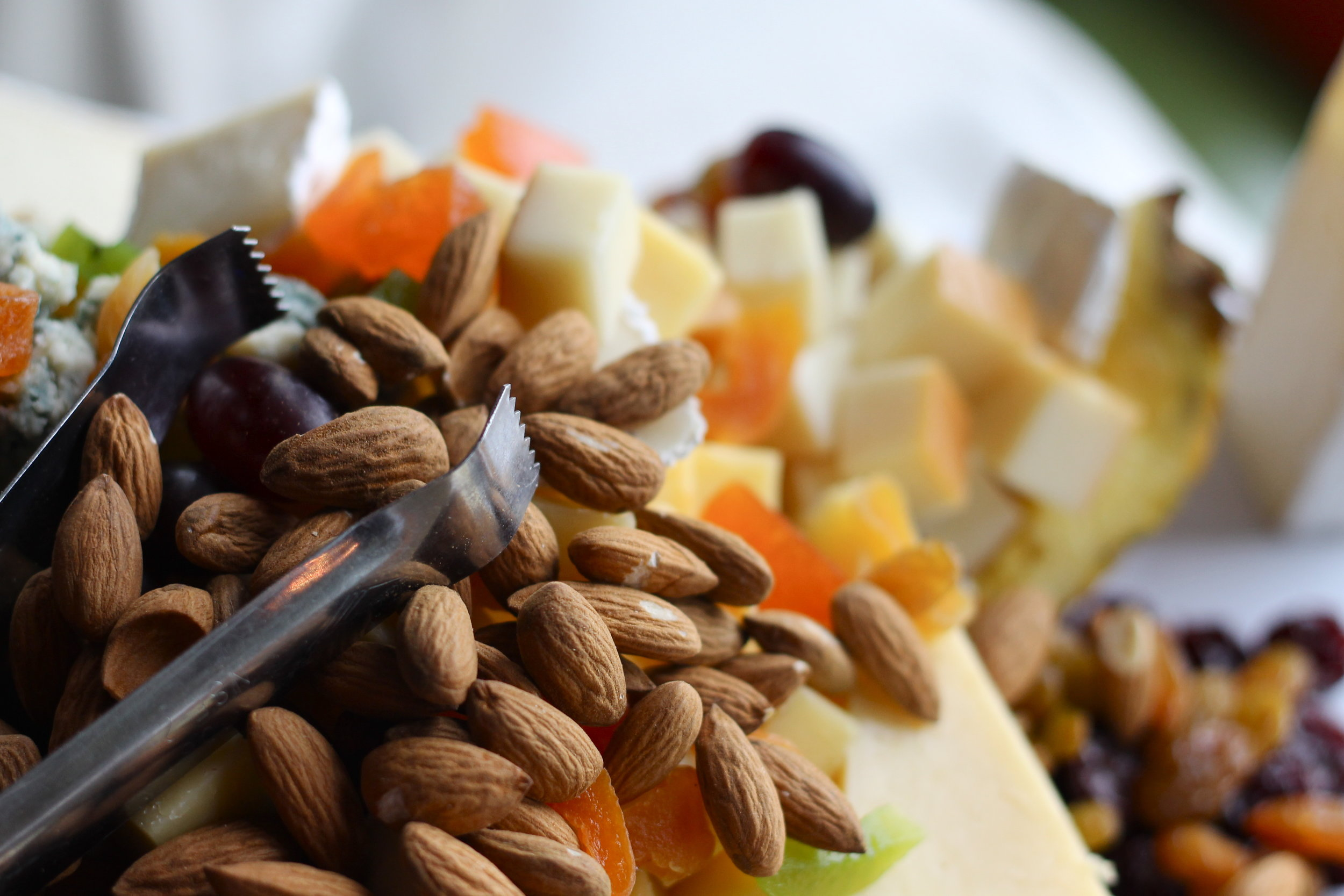 Skip the sweets altogether and offer a charcuterie board with a variety of cheeses, meats, fruits, and nuts.