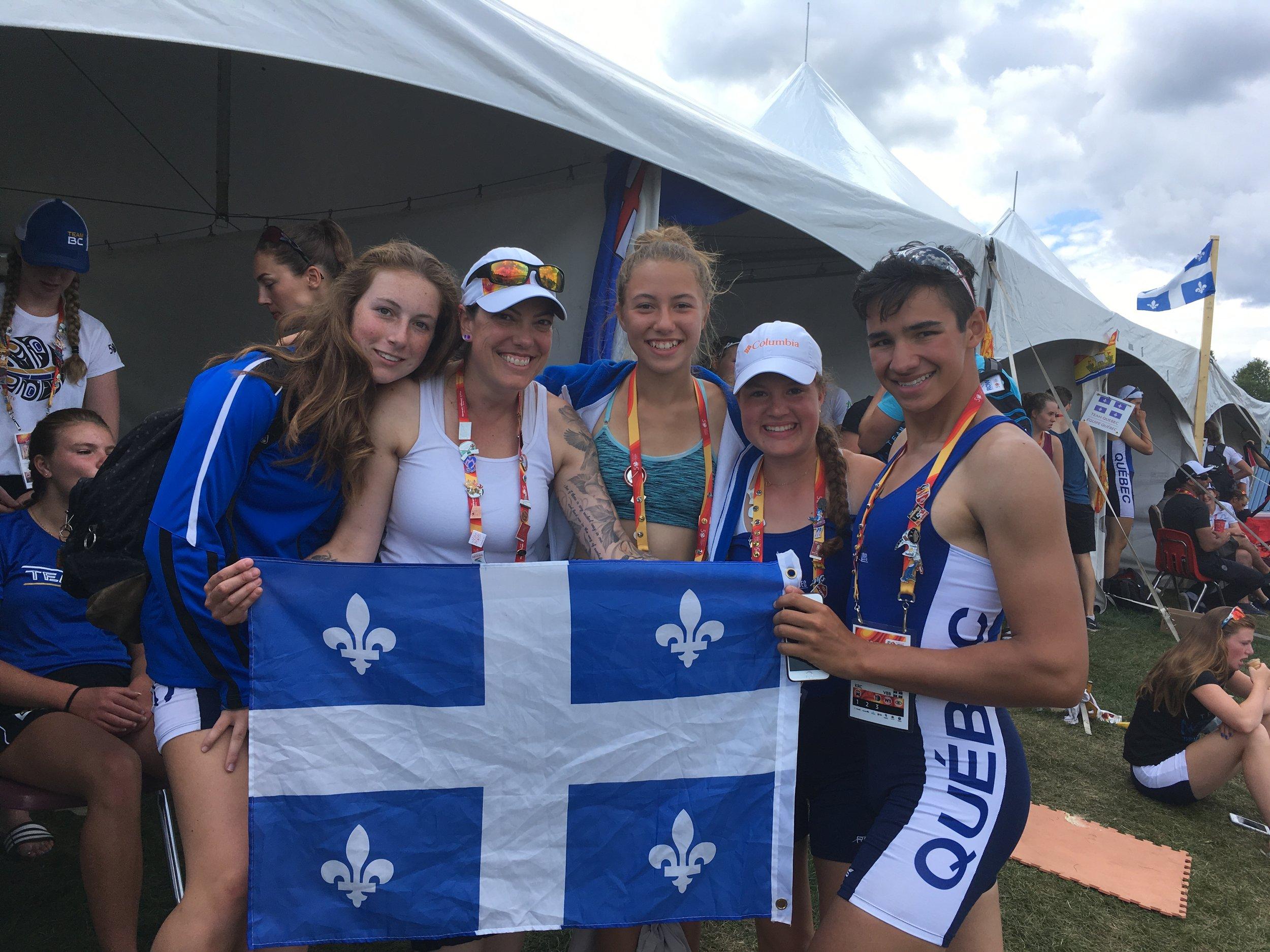 2017 canada games team QUéBEC ROWING