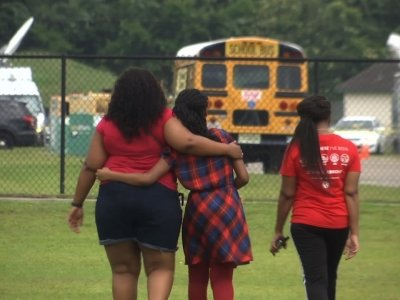 1.       Jai Gillard was in class when a 17-year-old student came in and started shooting. On Friday, 8 students and 2 staff members were killed at Santa Fe High School. Gillard remembers a friend she lost and the terrifying moments during the shooting. (May 21)