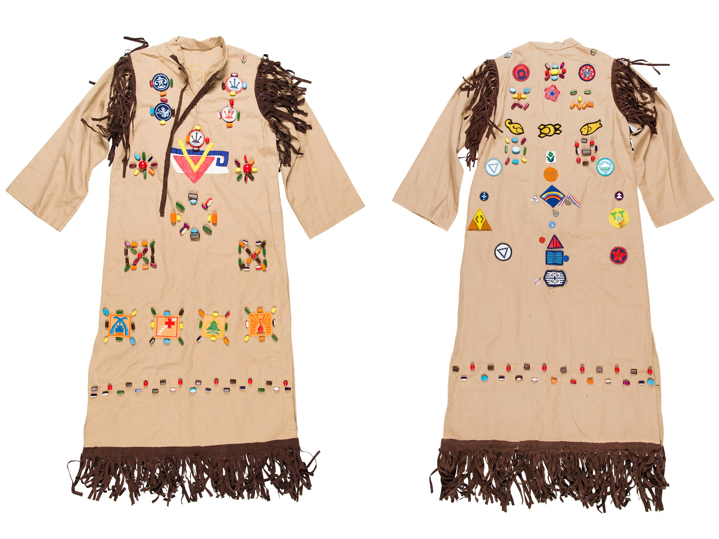 Camp Fire Girls dress, 1973