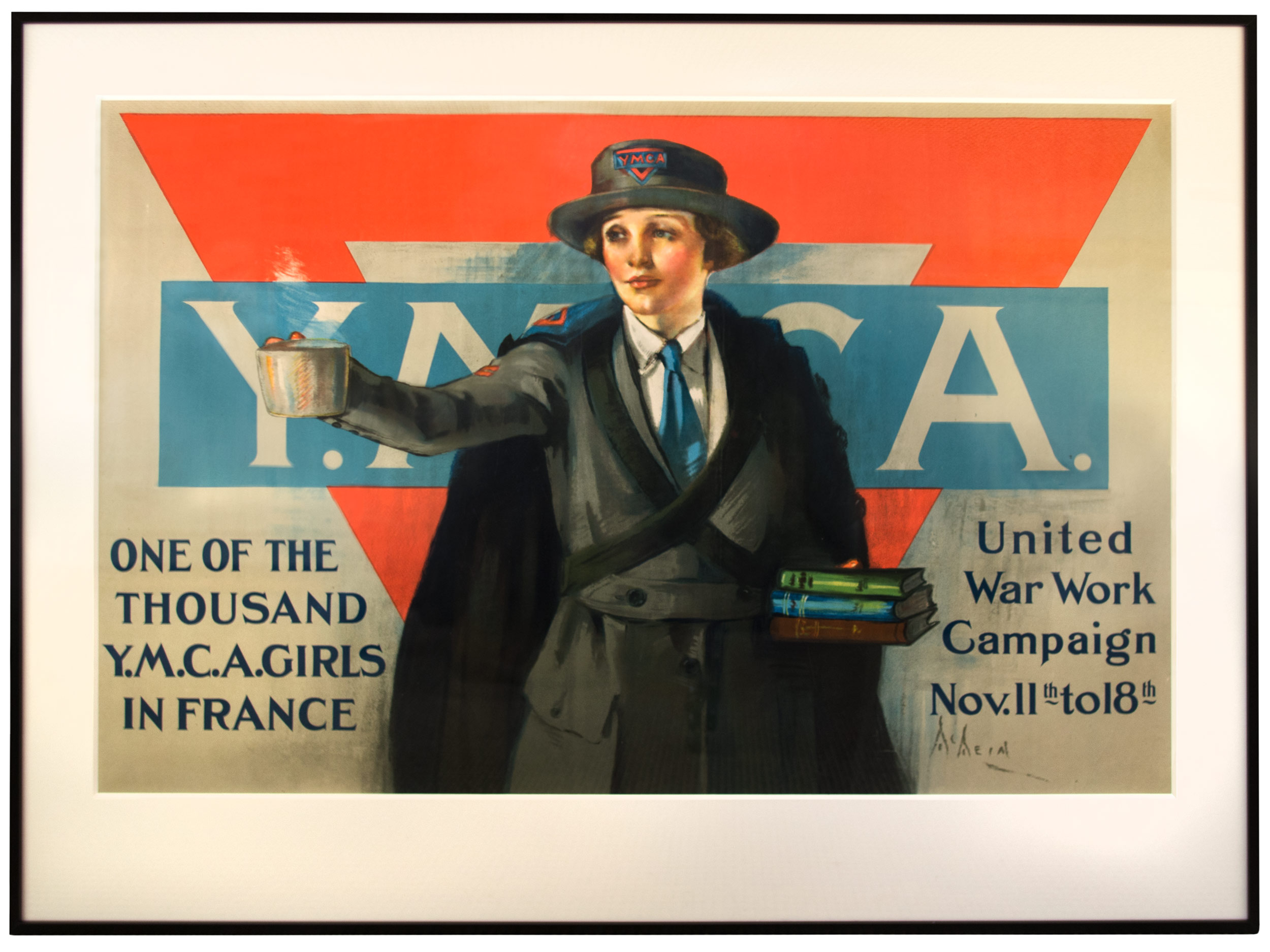 YMCA poster by Neysa McMein, 1917