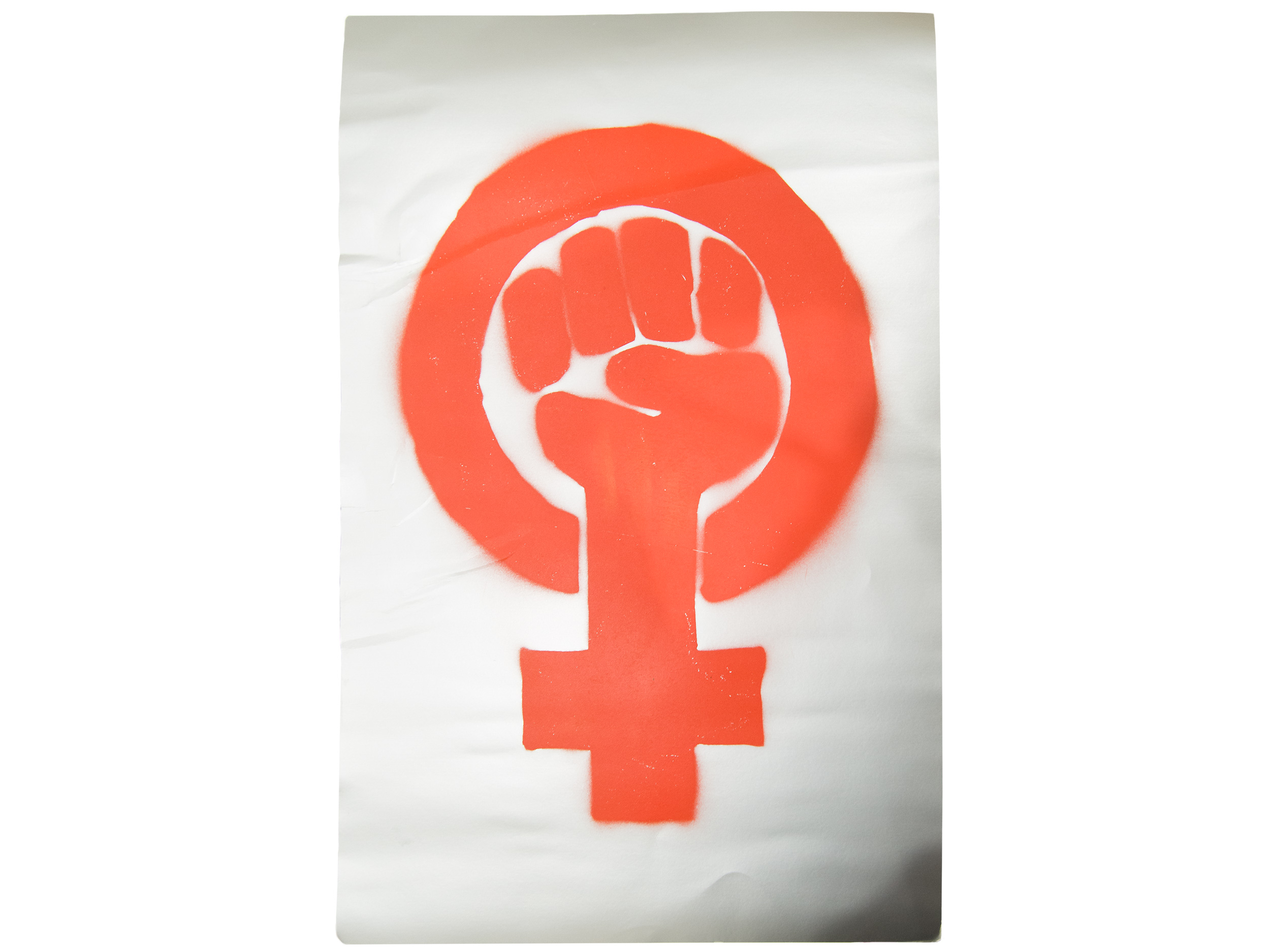 Posters from Women's March and March for Life, 2017