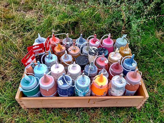 Paint-box 2 go. #travelandpaint