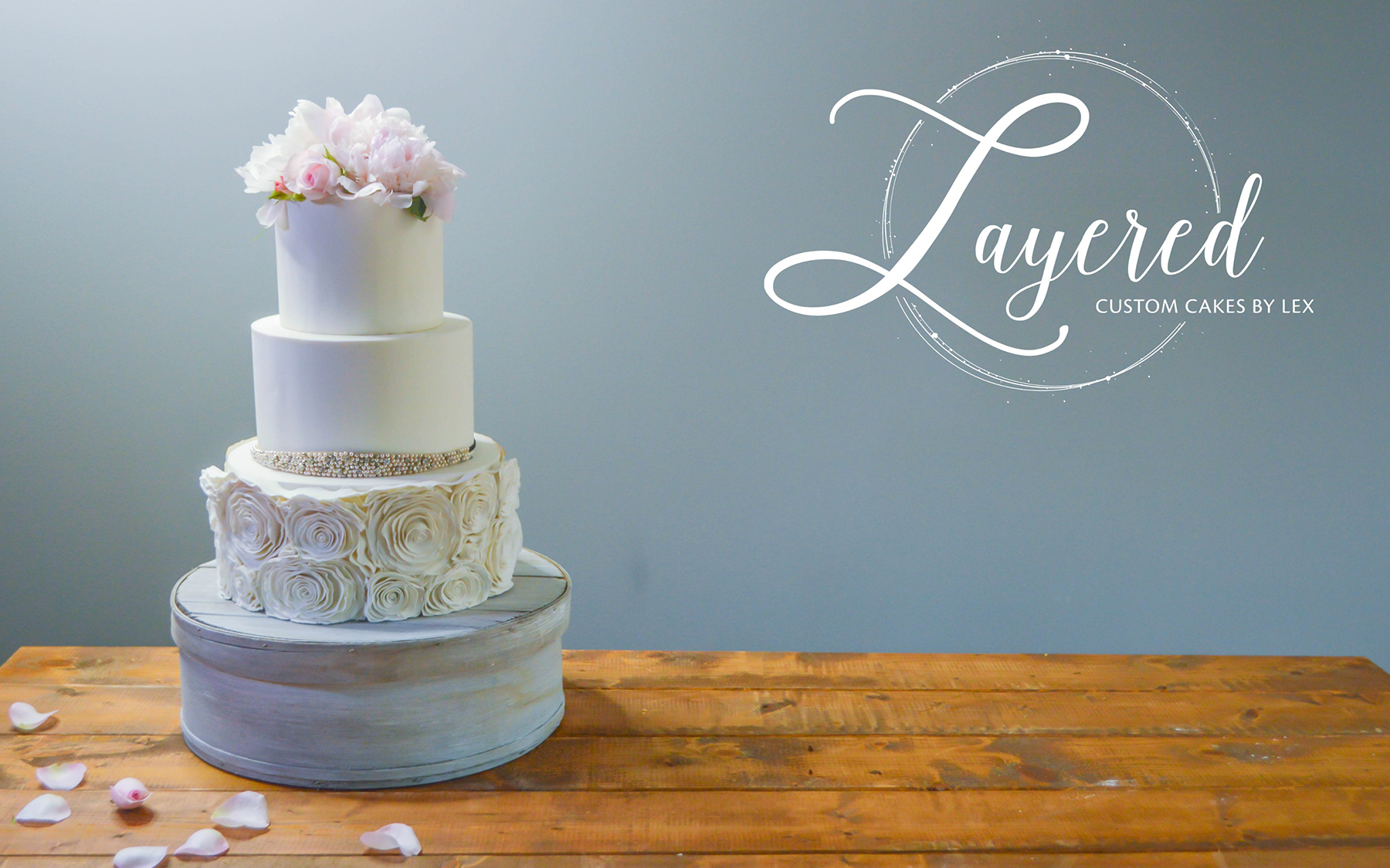 LAYERED CUSTOM CAKES BY LEX  Our custom cakes are made with ingredients from local farms and markets. You will be tasting a superior product and also contributing to the sustainability of locally owned businesses in the Asheville area.    More Information      Leave a Review