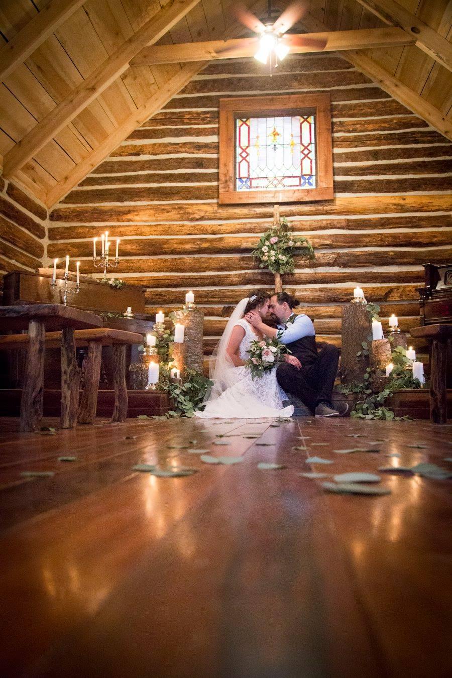 asheville outdoor mountain wedding