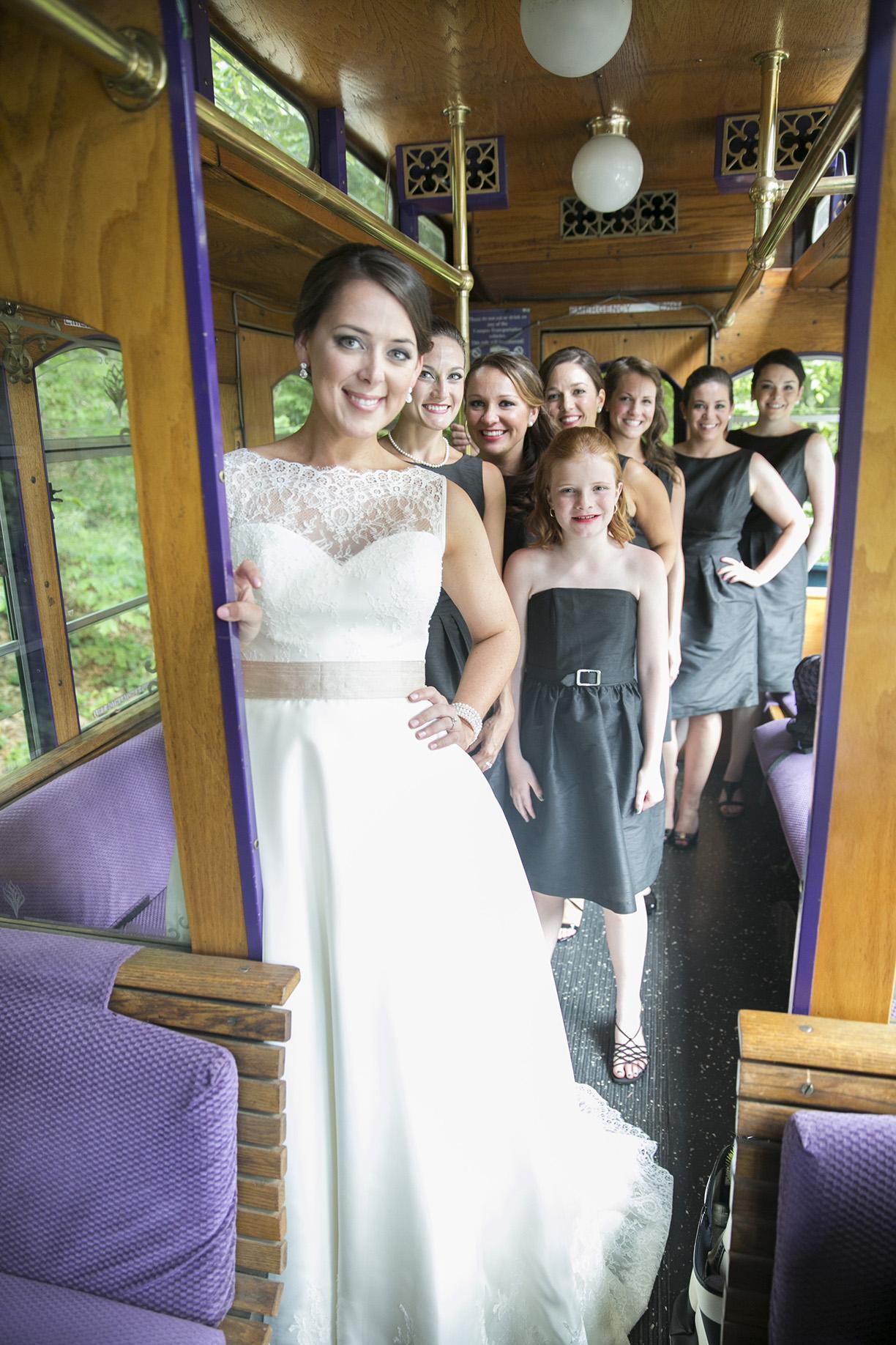 Wedding Transportation Asheville
