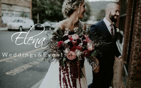 ELENA WEDDINGS & EVENTS  Share your romance in Asheville's natural splendor. Whether it's a destination elopement, intimate or extravagant wedding, Elena can make your wildest dreams come true.    More Information      Leave a Review