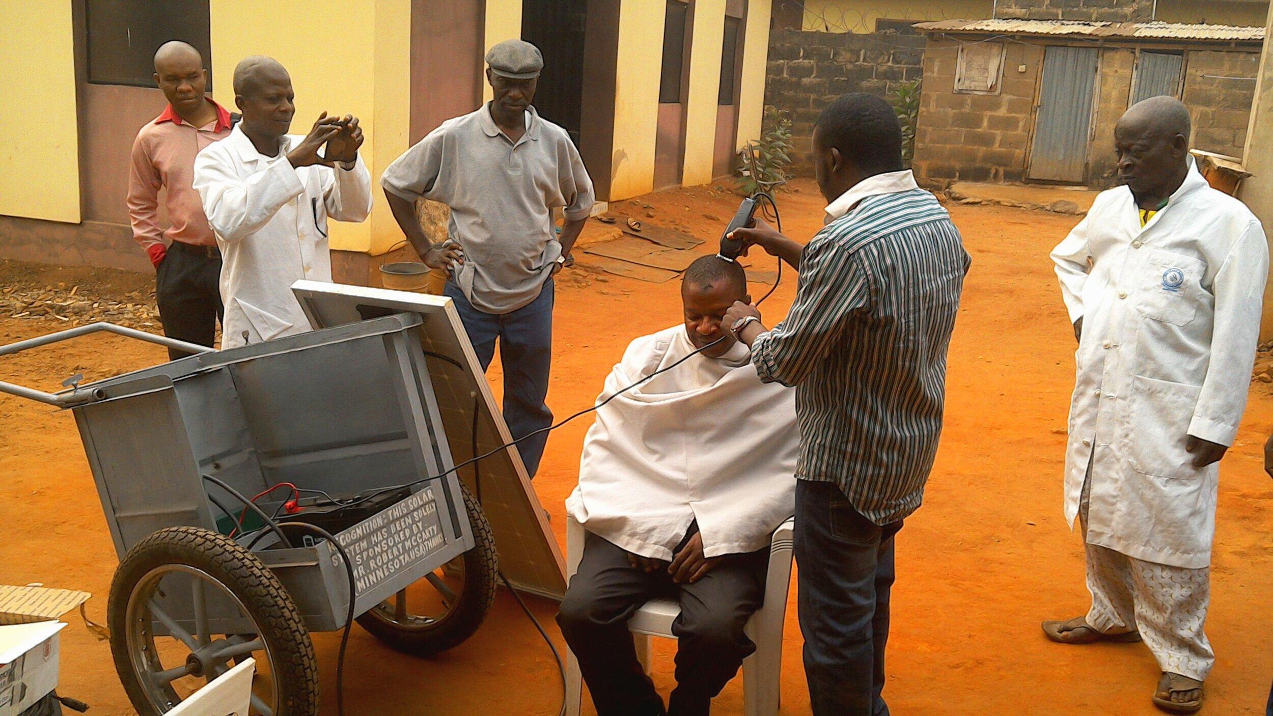Solar PV Barber kit
