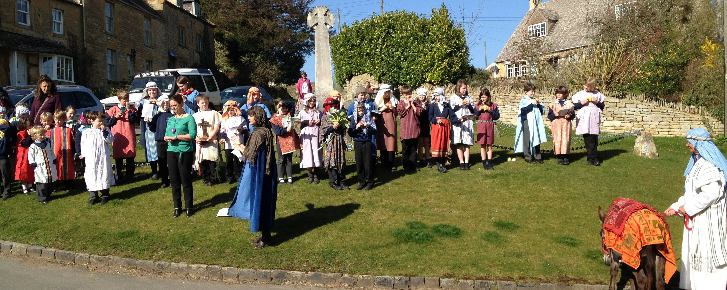 Longborough School Easter Open-air service