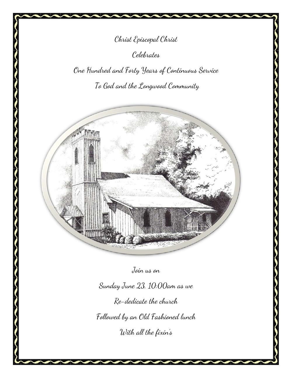Christ Episcopal Christ 140th Anniversary Flyer.jpg