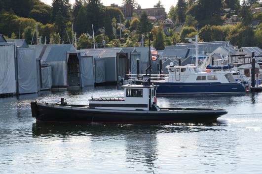 Parthia arrives at Olympia Harbor Days 2016, photo courtesy of Olympia Harbor Days