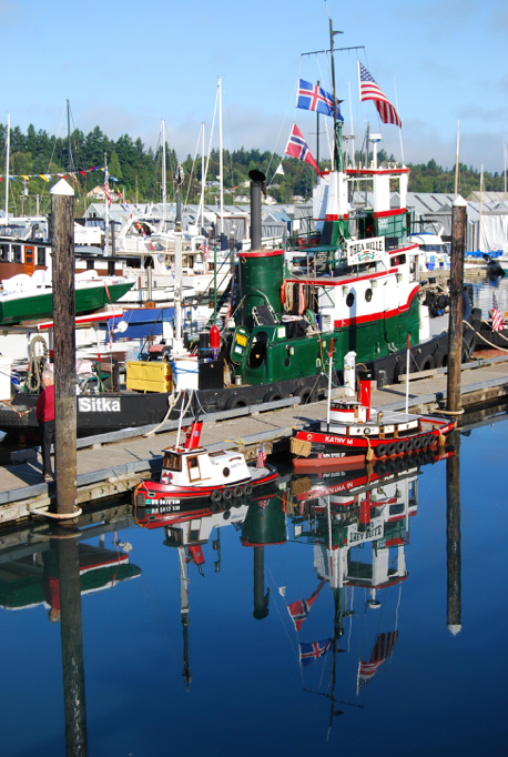 Smitty J and Kathy M at Olympia Harbor Days 2015 (photo courtesy of Karla Fowler)