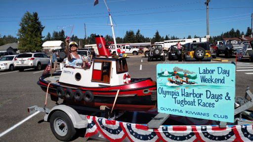Smitty J at the Rainier Parade and on display at the Capital Mall 2017 (OHD Stock Photos)