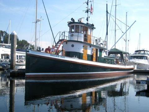 Tug Wallace Foss in Rhode Island