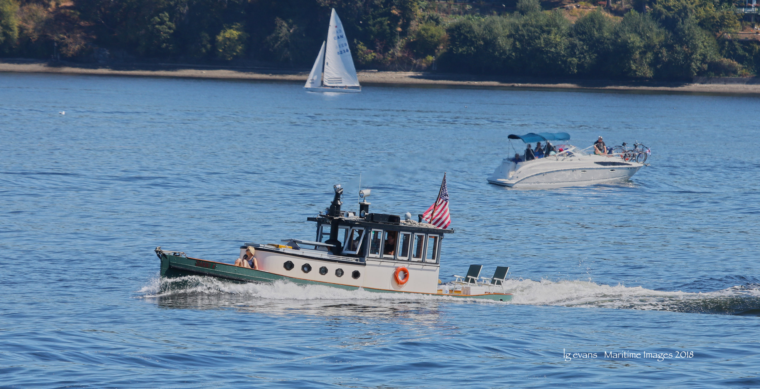 Tug DANNI K racing at Olympia Harbor Days 2018 c LG Evans Maritime Images