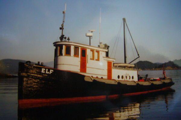 Tug Elf Luxury Yacht Listing
