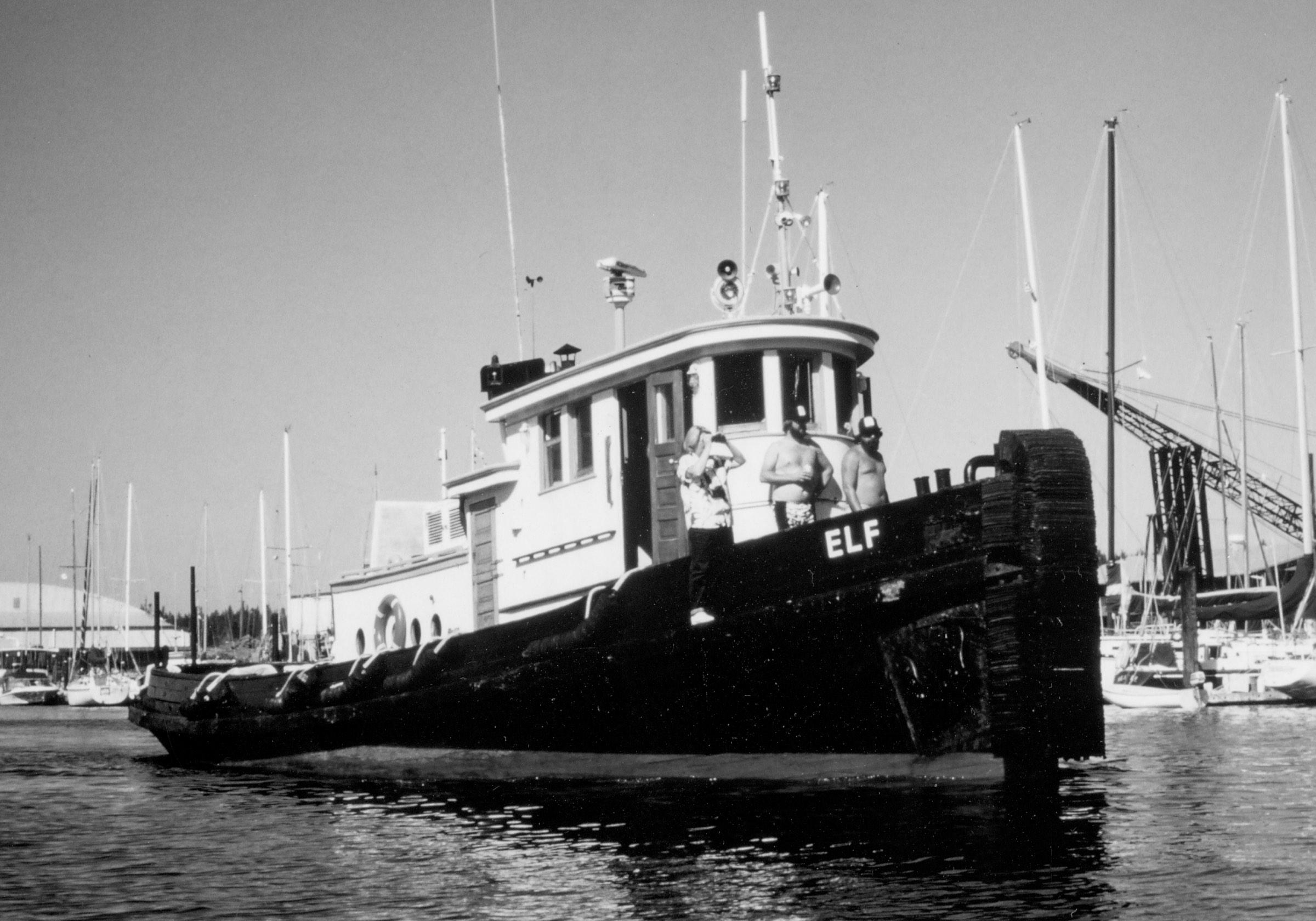 Tug Elf, Olympia Harbor Days 1988, Photo Courtesy Karla Fowler