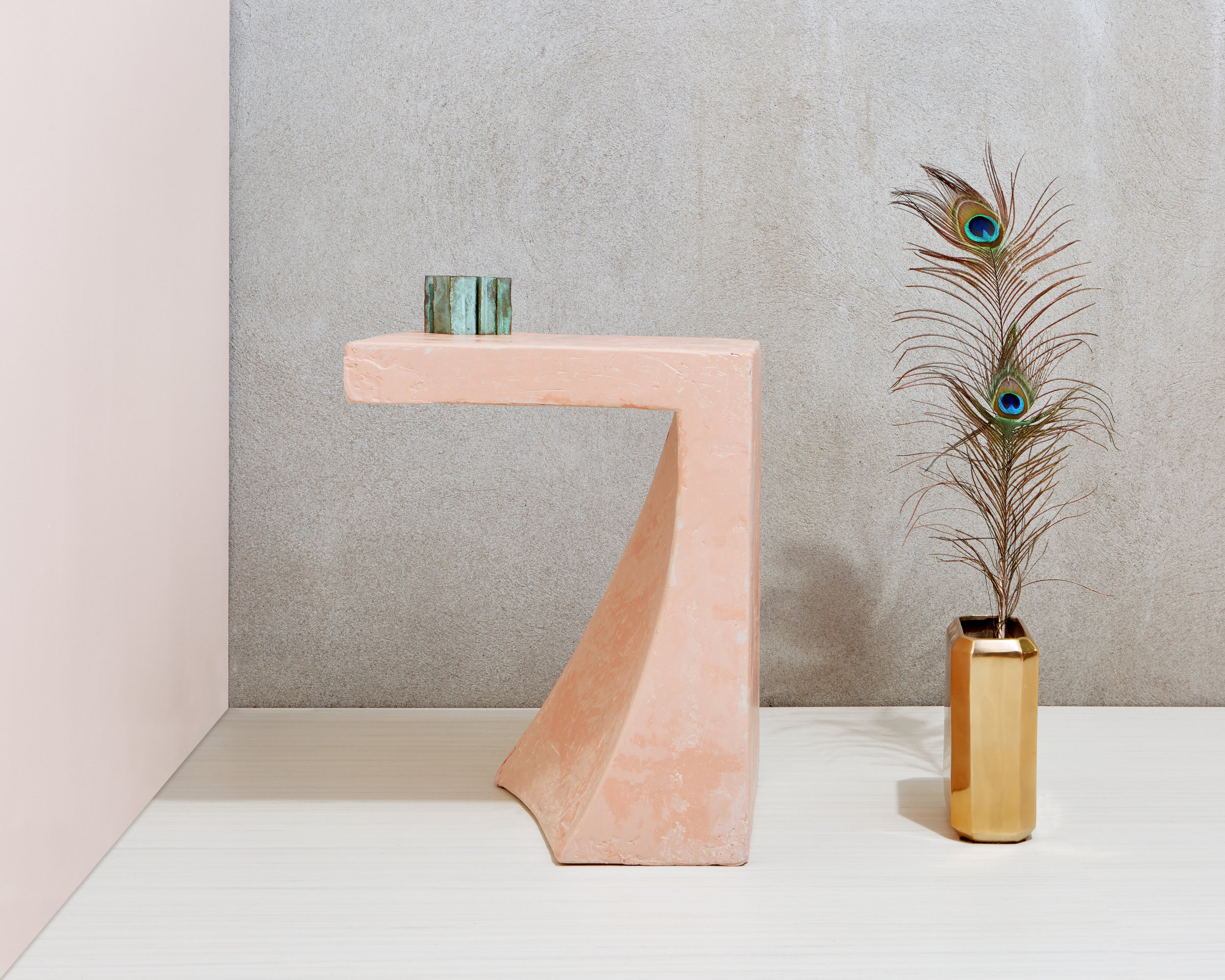 Rue Neuve Collection: Cement Side table