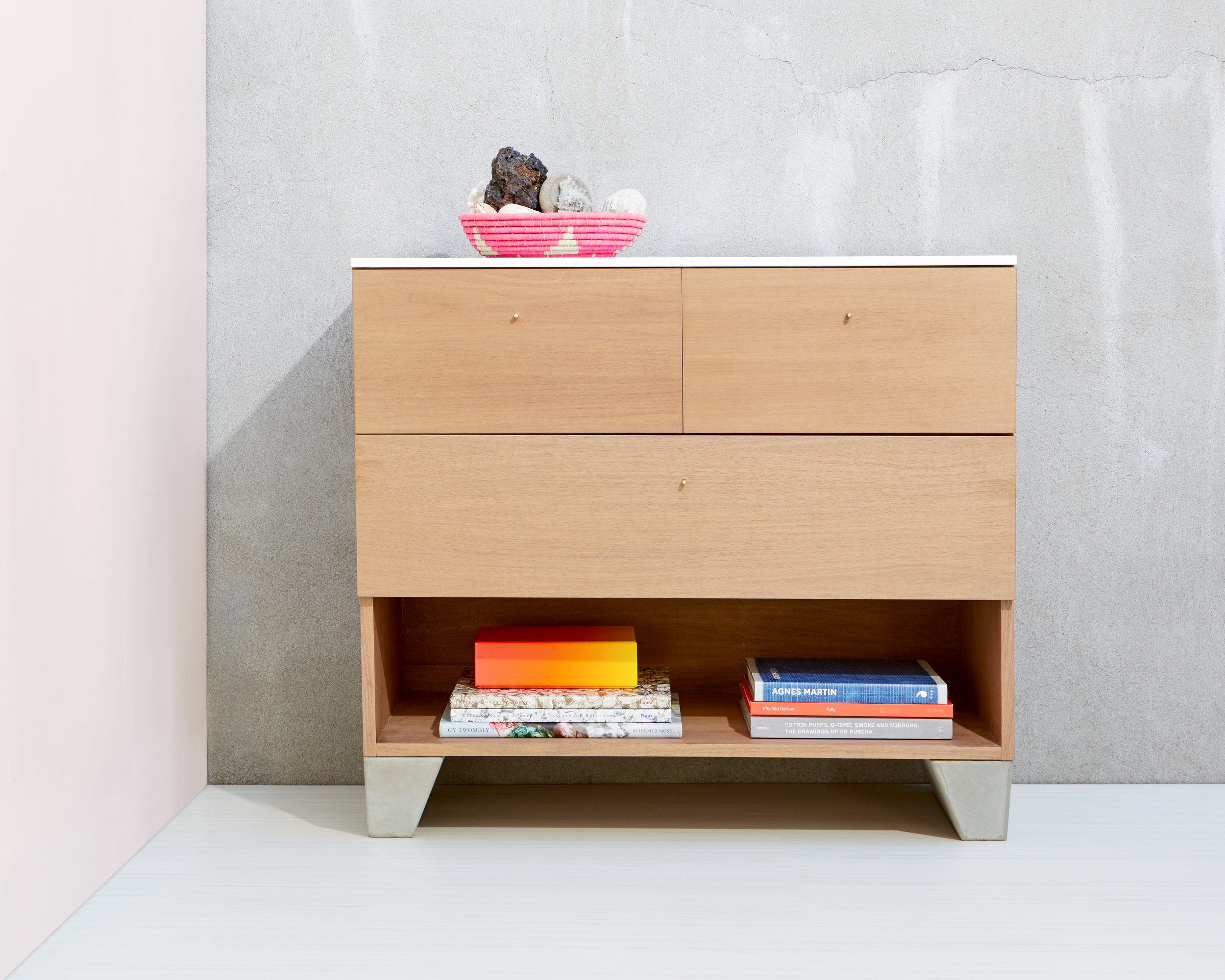Rue Neuve Collection: Double Geode with Drawers