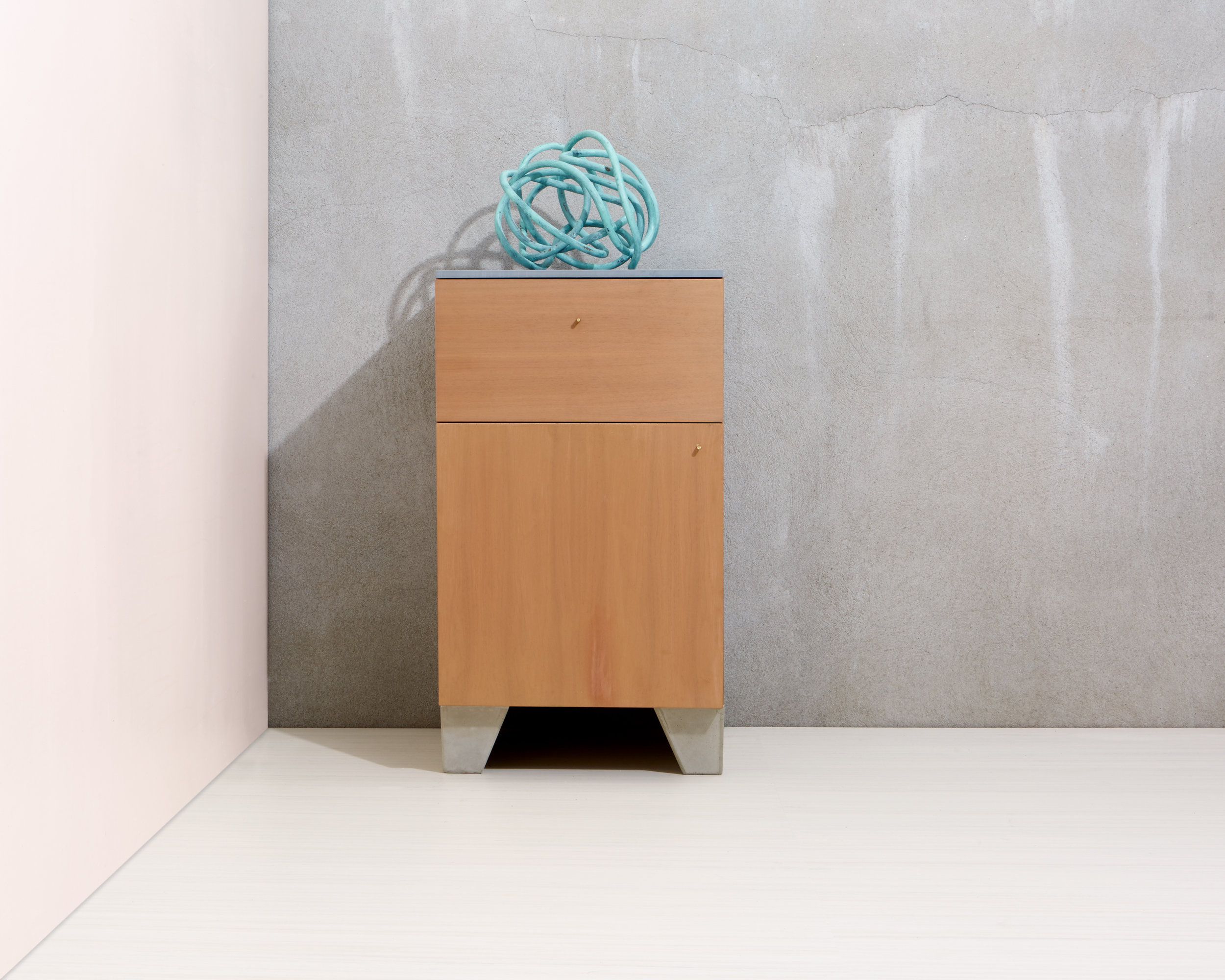 Rue Neuve Collection: Single Geode with drawer