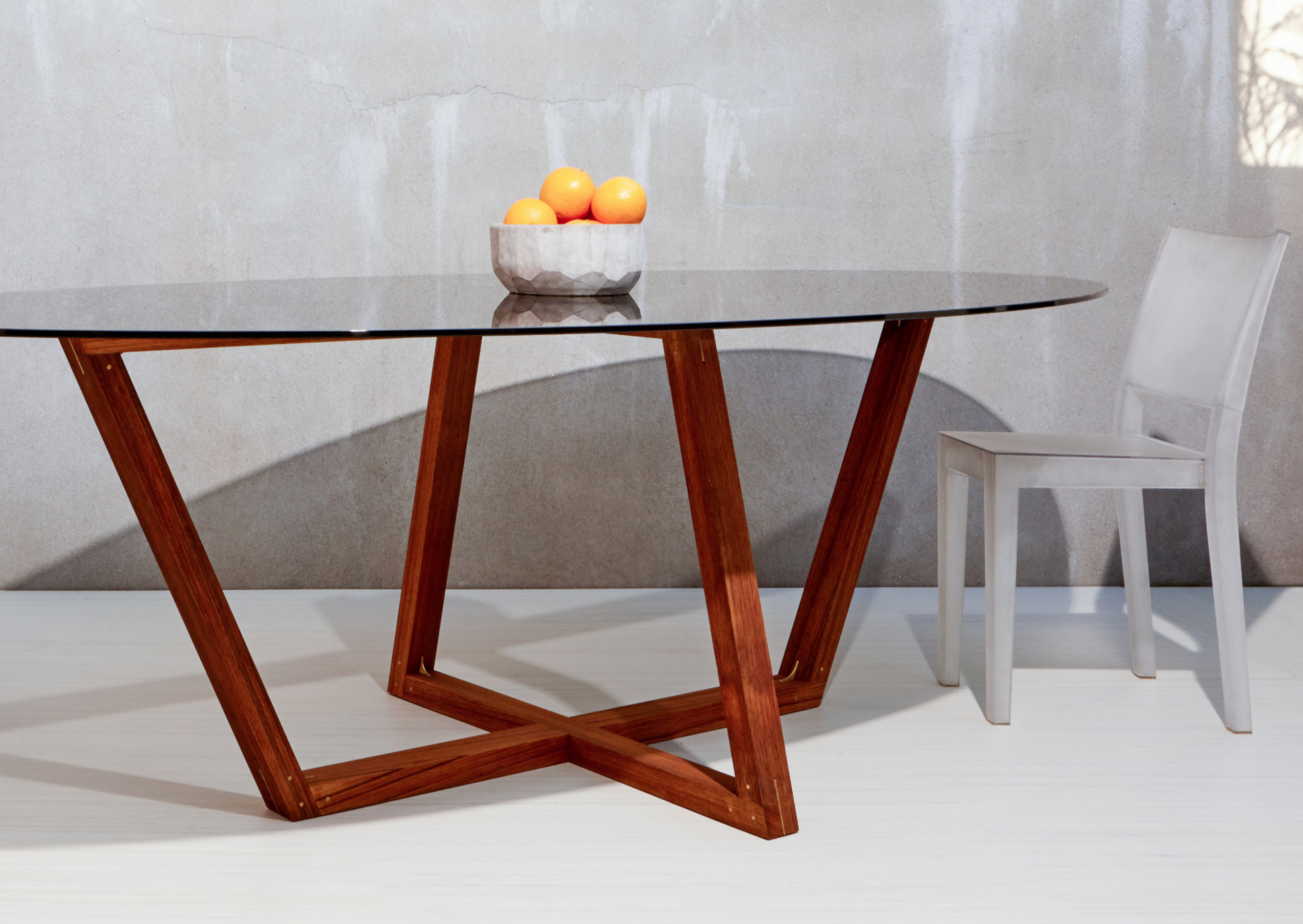 Nuevo Collection: Trapezoid Table (Large)