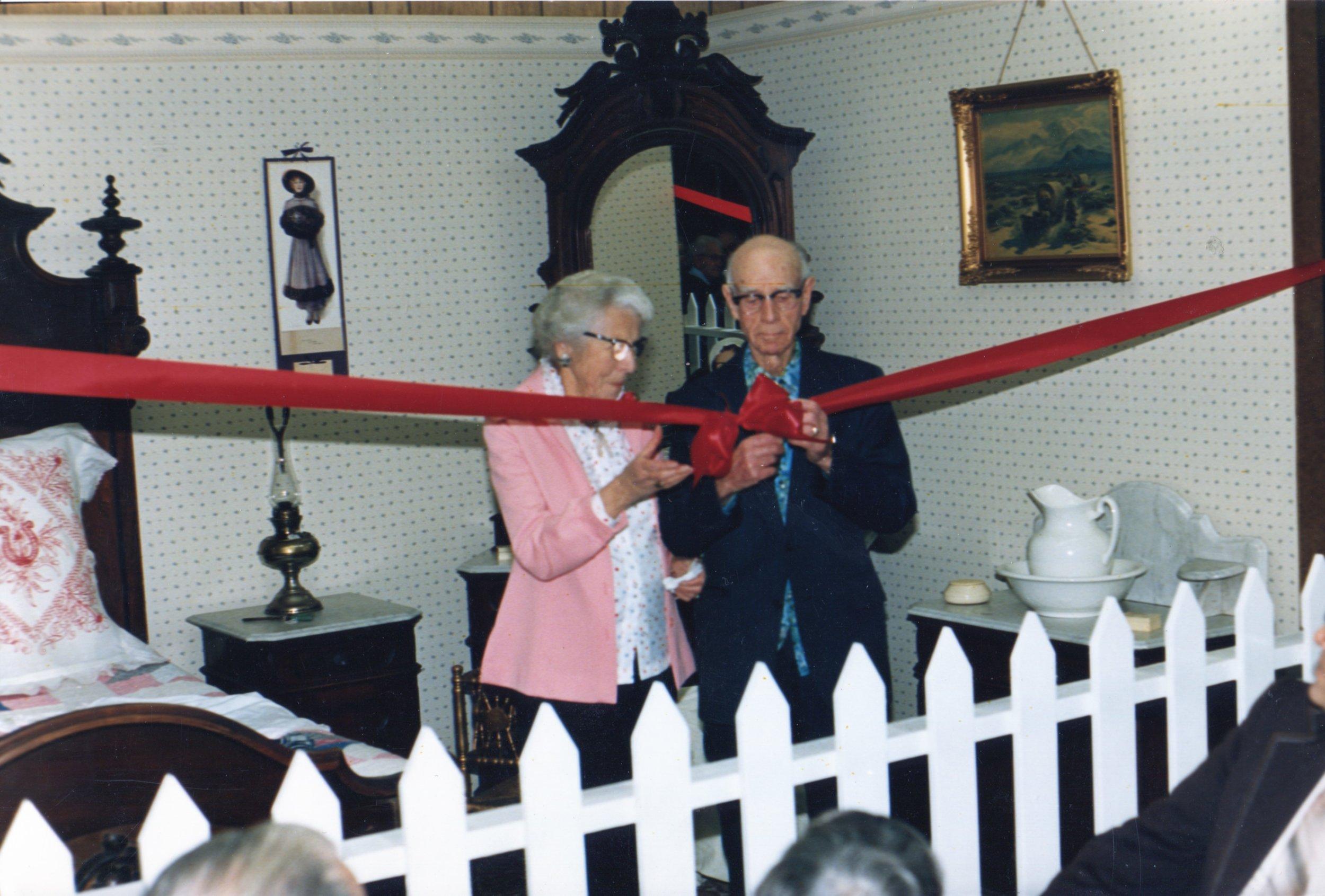 1983 dedication of museum T.Johnston.jpg