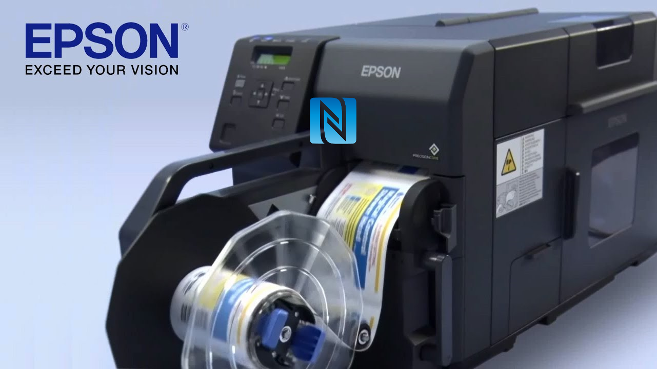 NFC Encoder for Epson TM-7500 - High Throughput NFC Labels On Demand