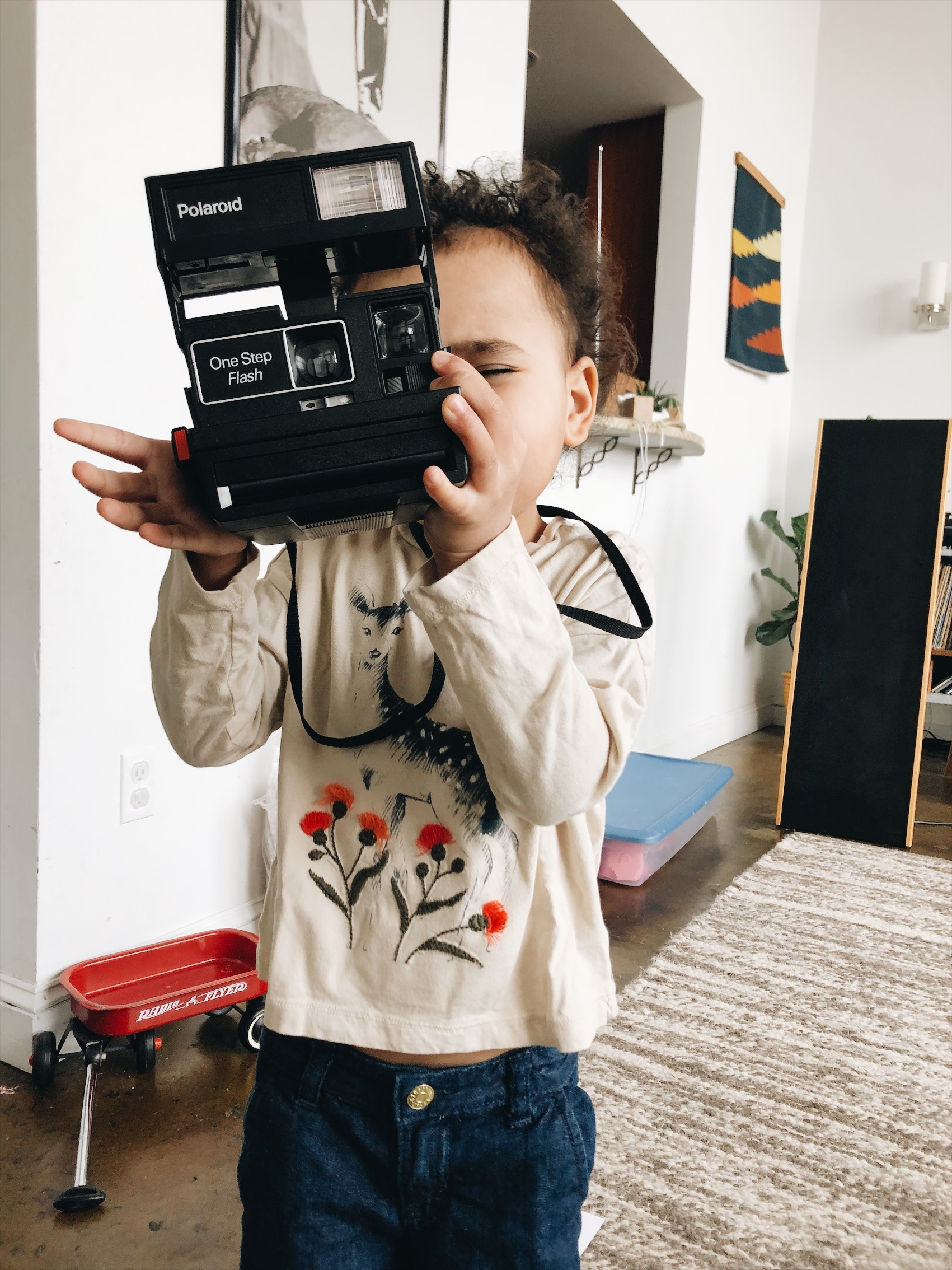 Her love for cameras