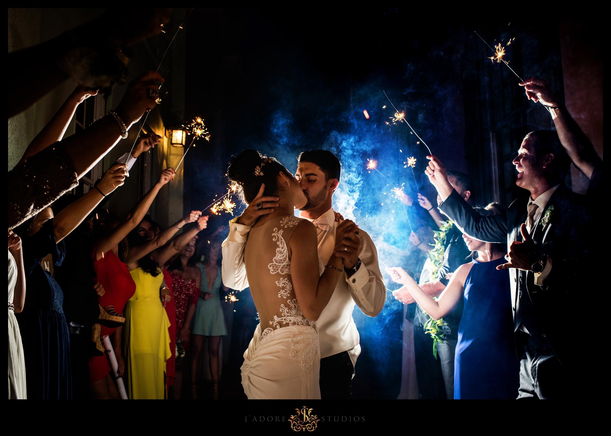 Frankie Leland Events Sparkler Exit St Augustine Wedding.jpg
