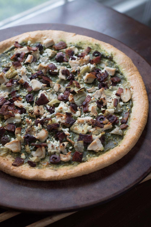 """Against the Grain Gourmet - 12"""" Three Cheese Pizza Crust"""