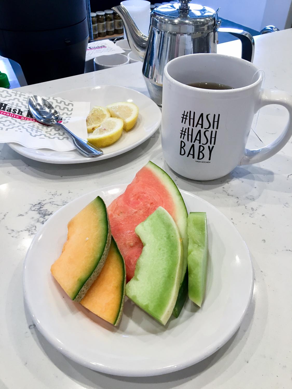 Breakfast was delicious at Hash Kitchen in Scottsdale, Arizona!