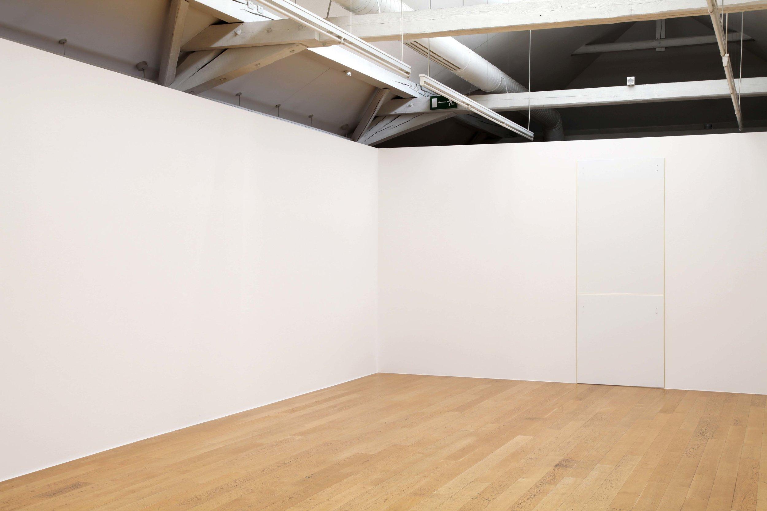 """Cluny , 2010   108 x 40.62""""   274.3 x 103cm"""