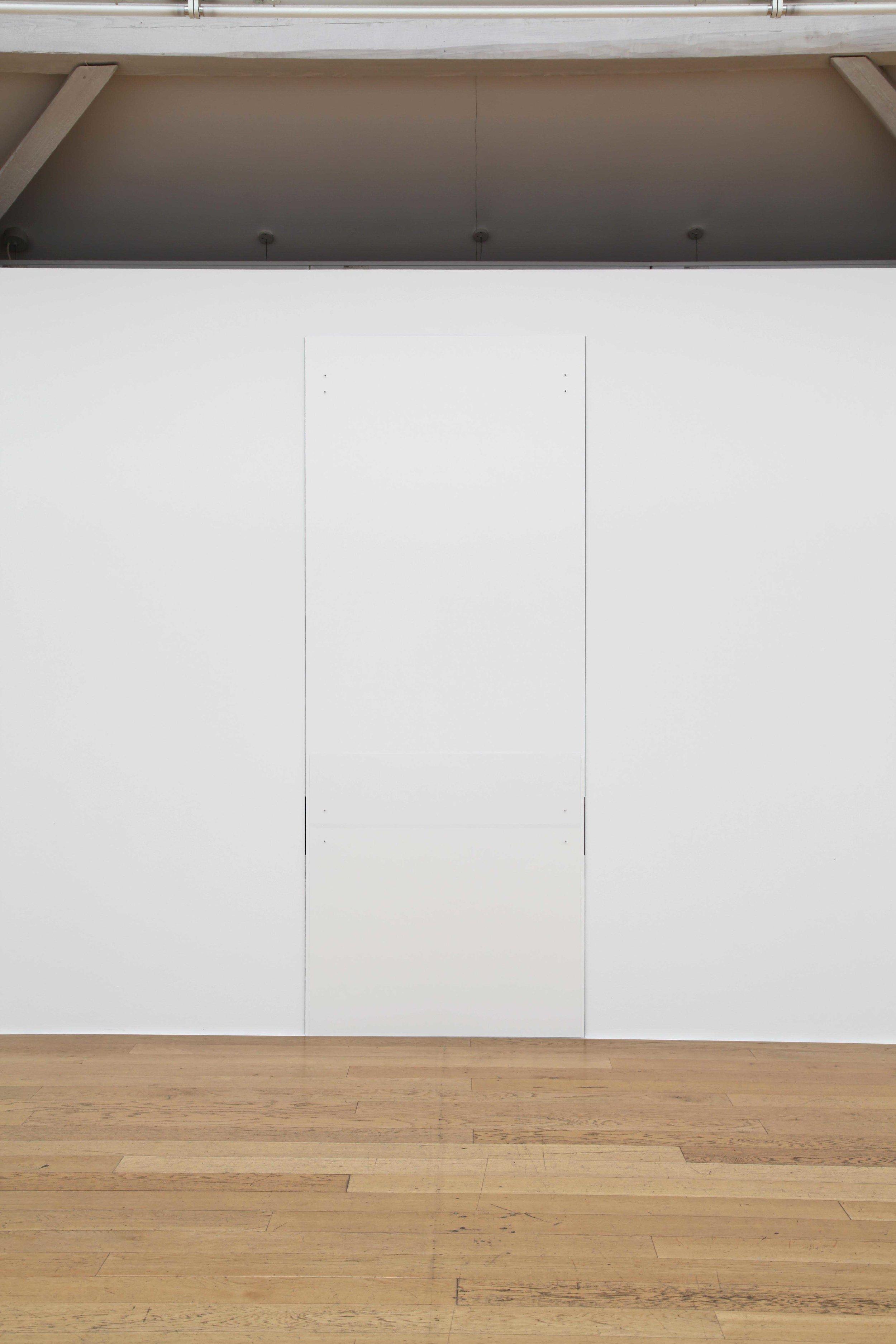 "Extension , 2009   108 x 43.3""   274.3 x 110cm"