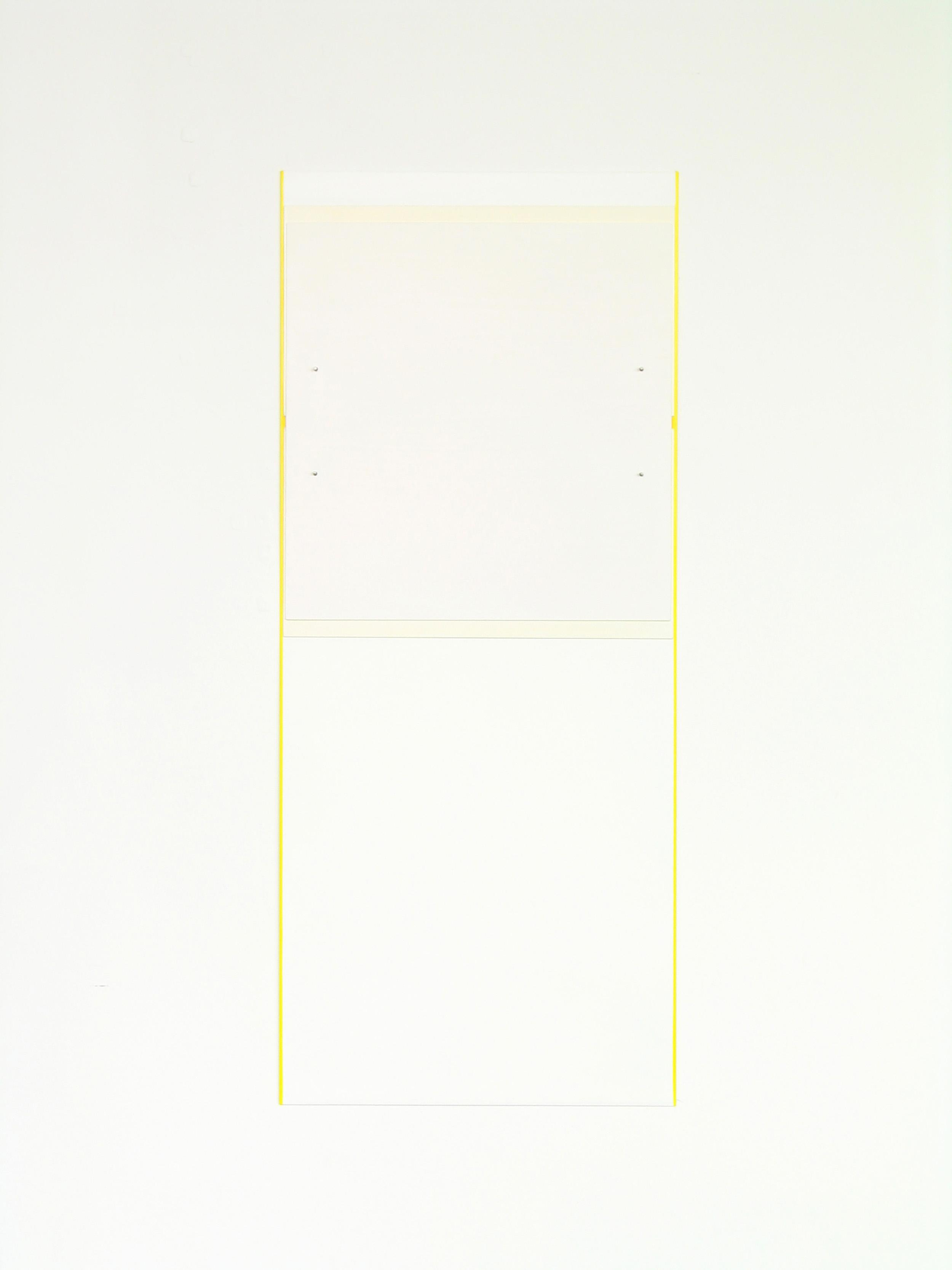"Untitled, 2007  40 x 17""  101.6 x 43.2cm"