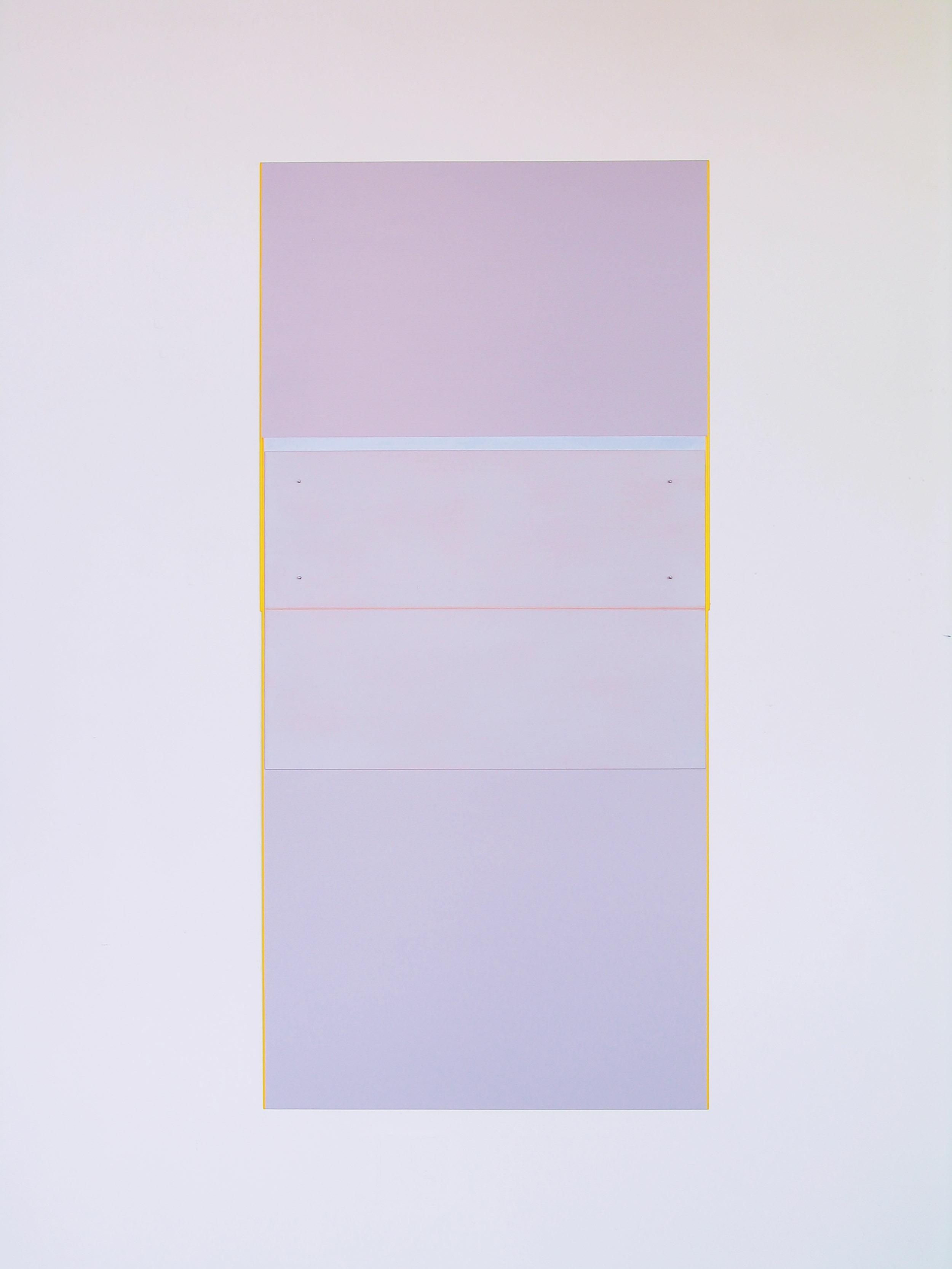 "Refrain, 2008  61 x 28.9""  155 x 73.3cm"