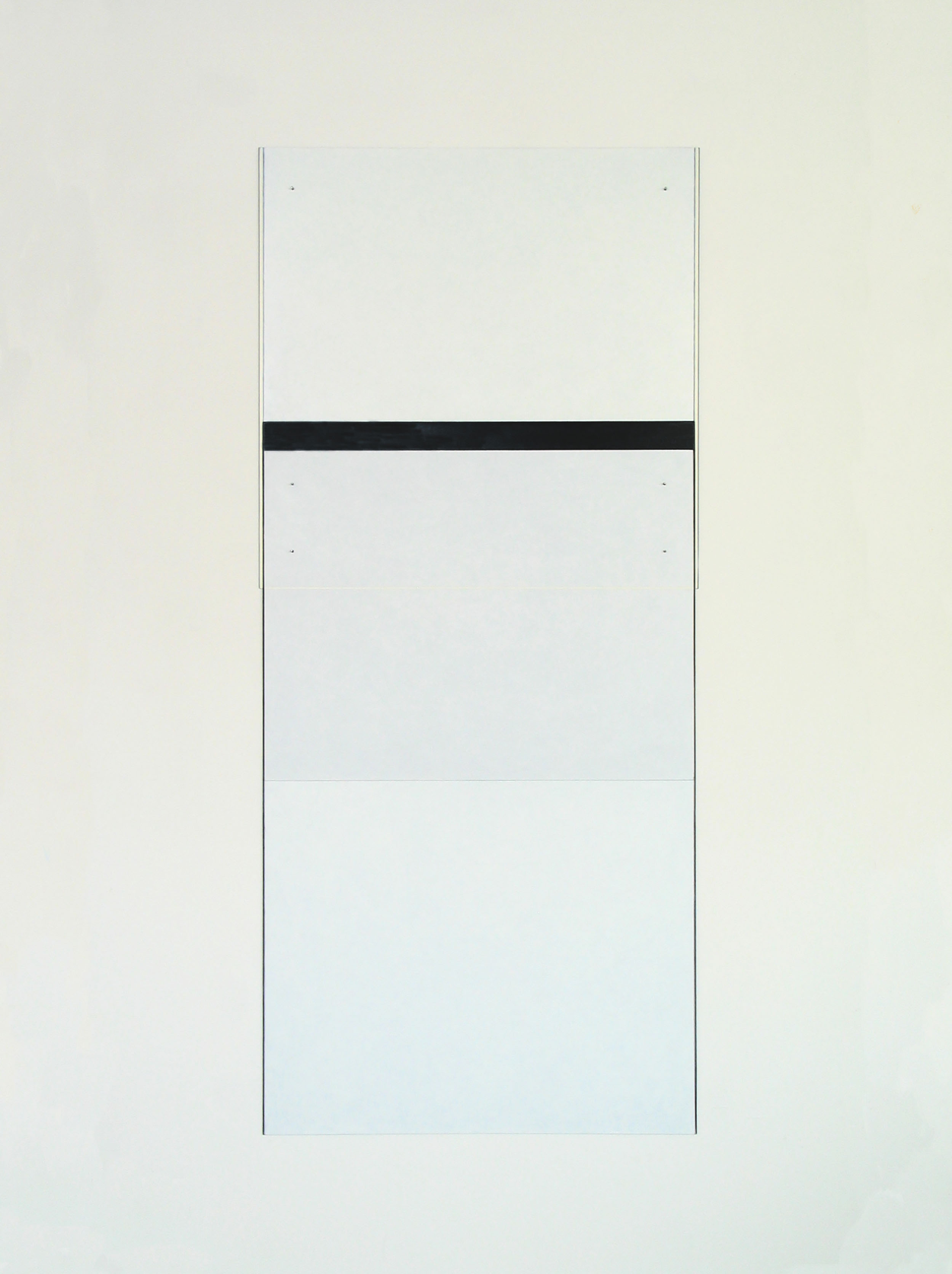 "Untitled, 2006  65.75 x 29.5""  167 x 75cm"