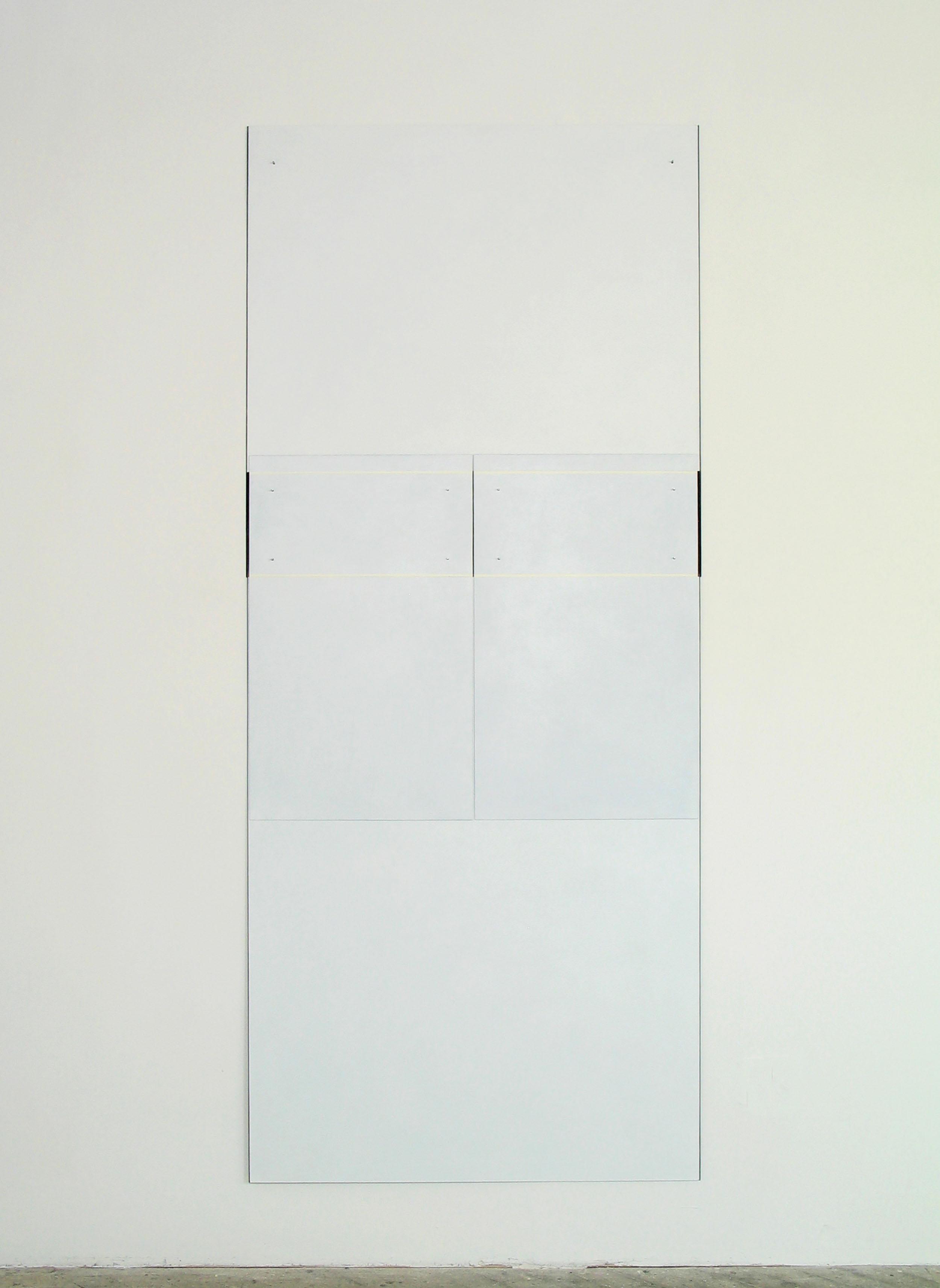 "Untitled, 2006  98 x 42""  249 x 106.7cm"