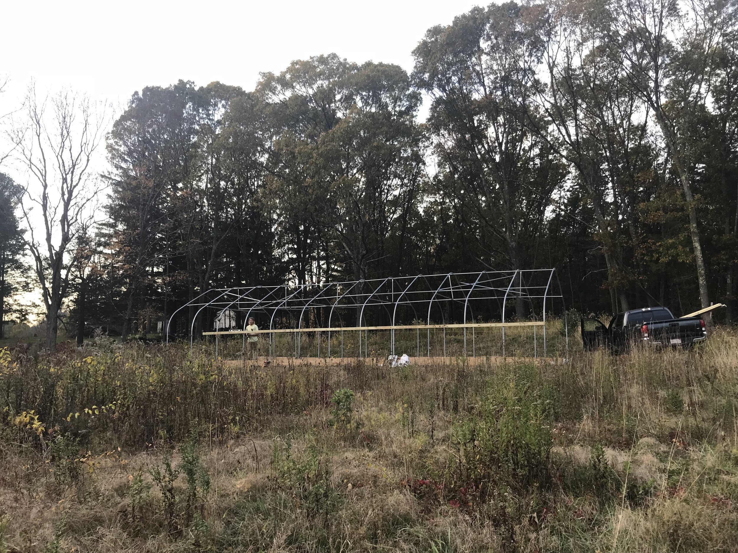 2017 Greenhouse Frame Complete