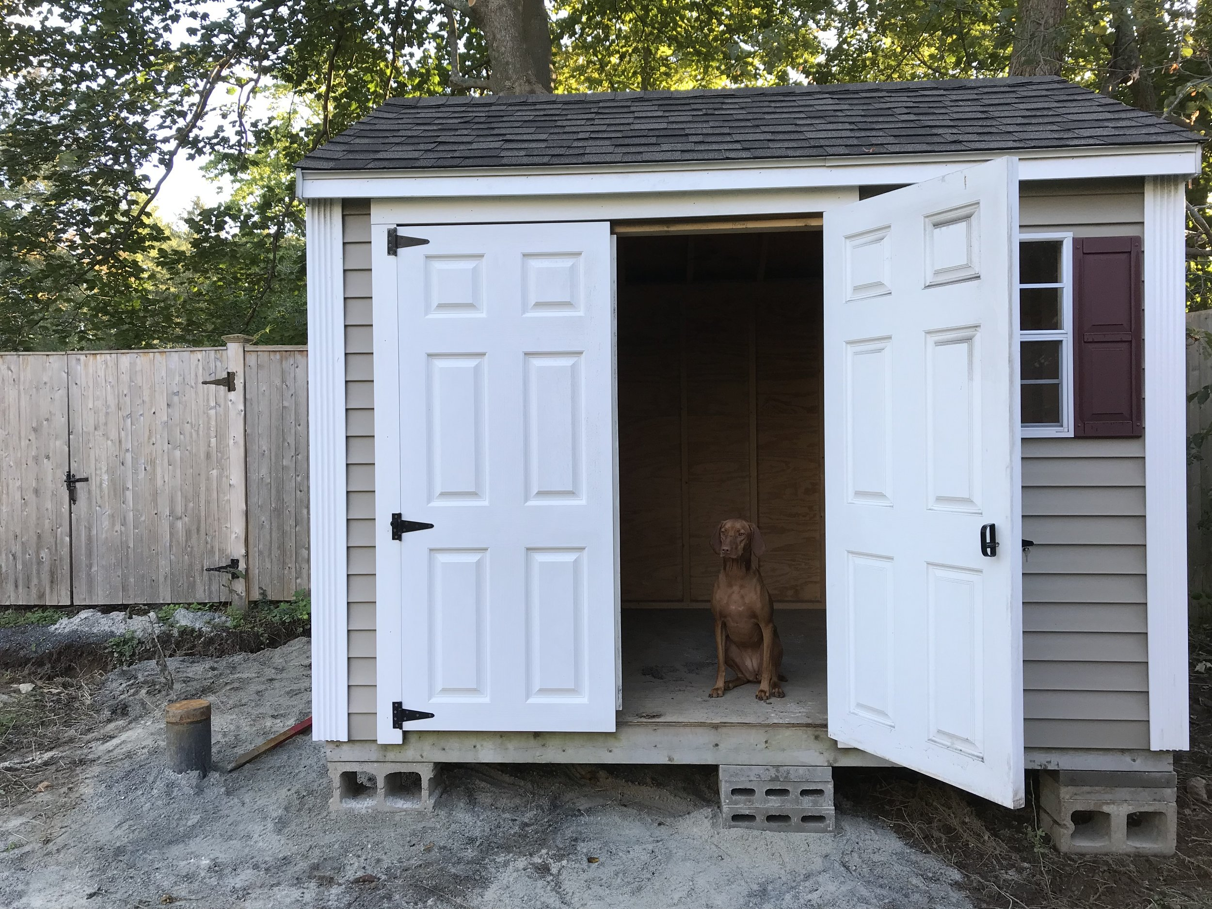 2018 Shed Install