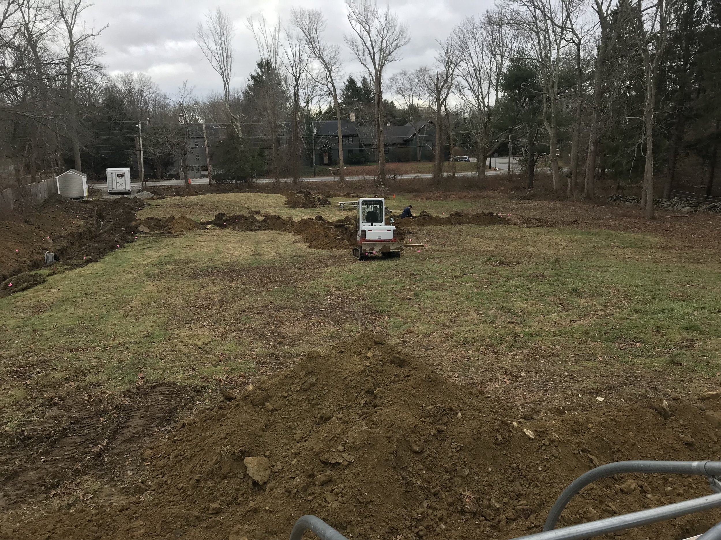 2018 Water Trenches Continue