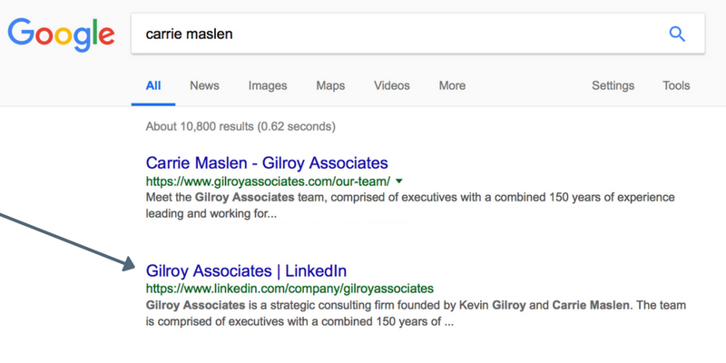 GA LinkedIn Company Page in Google Search Results.png
