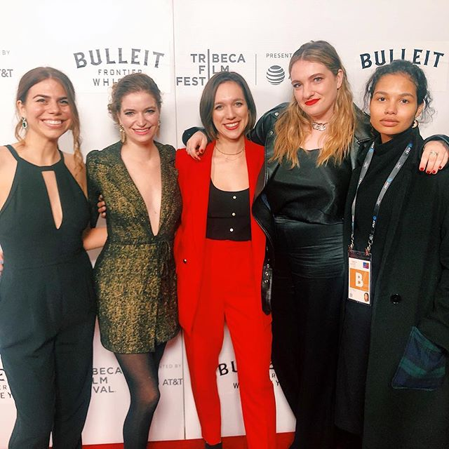 WOW.  An amazing premiere, celebrated amongst an incredible group of collaborators and friends. I eagerly await the official photos and our attempts to all squeeze into one image, but for now, here's the amazing WOMEN on Twist - each is a talent, so brilliant and a supporter of one-another; together, we stand on each other's shoulders and are taller for it ♥️ #tribecafilmfestival2019 #twistfilm2019 #femalefilmmakerfriday #film #thriller #filmfestival
