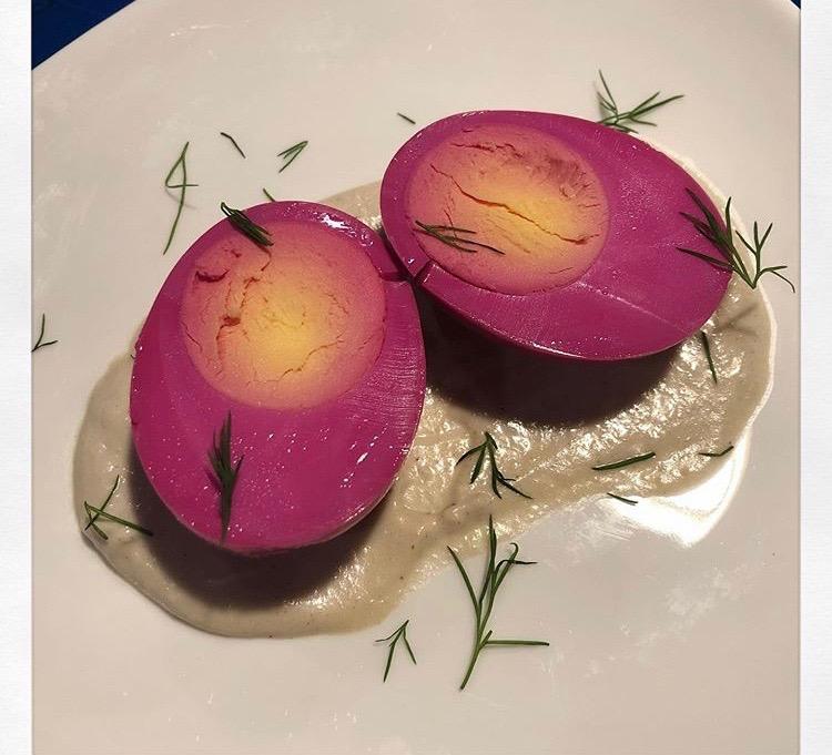 Pickled eggs!